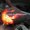 2015 hot-sale special raw amber stones,inner red Fire amber stone,amber