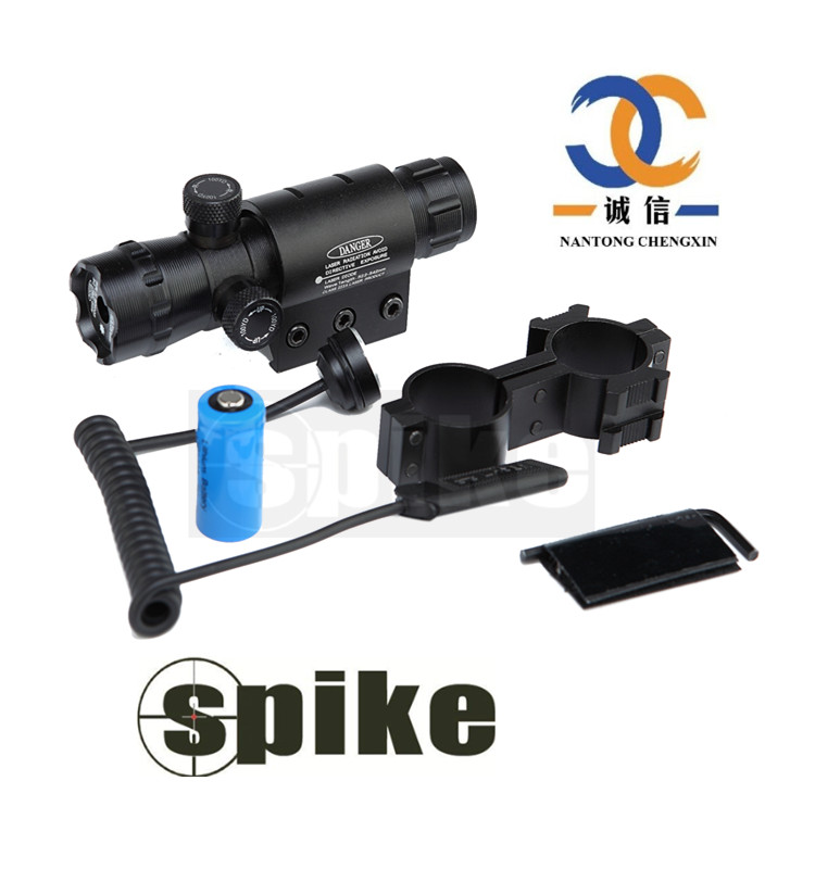 Spike 20mw Green Laser Pointer Sight Infrared Laser Sight for Guns Air Rifle
