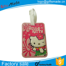 custom photo different coloured fun favor luggage tag