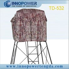 Camo hunting blind/two seat shooting tent