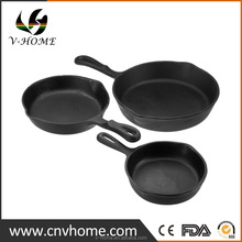 Amazon Wholesale nonstick dishwasher safe cast iron skillet