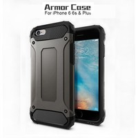 Dual Layer Rugged Design Shockproof TPU PC 2 in 1 Hybrid Tough Armor Phone Case For iPhone 6 Plus