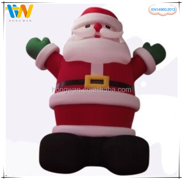 Factory price wholesale Christmas inflatables products, large Santa Claus