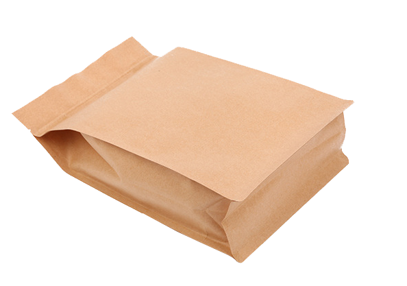 biodegradable kraft paper zip lock bag