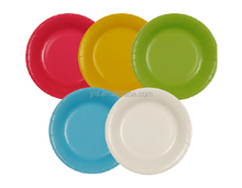 New Theme Party Decorations Disposable Paper Plate