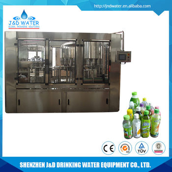Hot Drink Water Filling Capping Machine for Pet Bottle