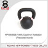 powder coated Precoated sand kettlebell