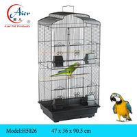 pet supply wire double stack bird cage