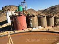 300tpd Gold Mining Equipment , Gold Mining Machinery
