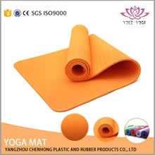 high quality good resiliance TPE ROHS Reach eco yoga mats for exercise