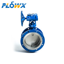 Pneumatic control Aeration ventilation Ductile Iron Stainless Steel butterfly valve DN1500 PN2.5 D643F