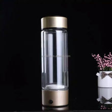 Manufactory BPA-free Glass Large Capacity Portable Hydrogen Rich Water Bottle Cup