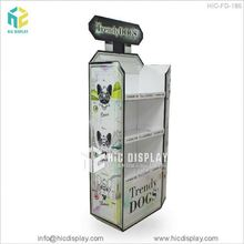HIC Toy exhibition 4-way carton pallet display stand, Frame toys corrugated display