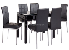 Elegant Furniture Top Cheap Extendable Dining Table Set