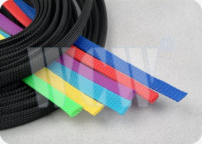Expandable PET Mesh Tubing