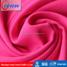 150D*150D polyester microfiber different types dress materials