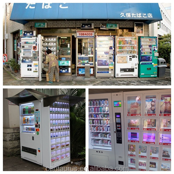 multiple functions solar powered vending machine with best price