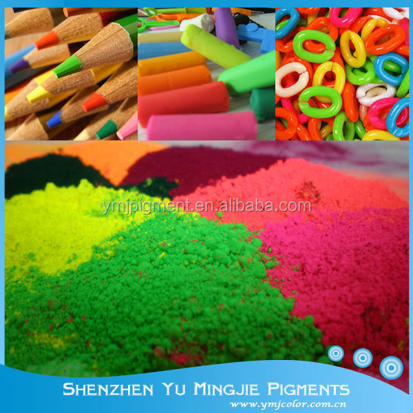 Fluorescent Pigment For Crayon, Pastel, Wax Pencil Coloring
