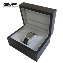 Top quality custom logo PU leather men and women watch box