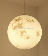 New postmodern shape pendant moon light with high quality and best price
