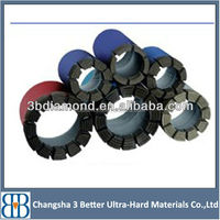 High effecient factory directly supply turbo diamond segments core drill bits