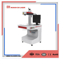 10w 20w 30w fiber laser printing batch coding machine for plastic material