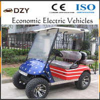 used cheap electric vintage golf carts