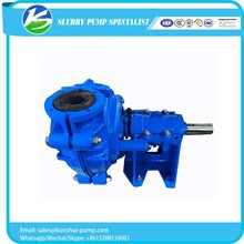 New promotion rubber liner silver mine slurry pump With the Best Quality