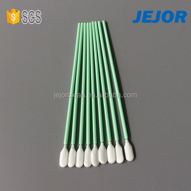 For Electronics Industry Use Polyester Tip Long Handle Swab