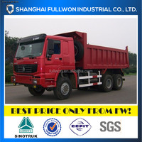 6X4 336HP CHINA USED DUMP TRUCK ON SALE