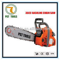 Gasoline long handle chain saw