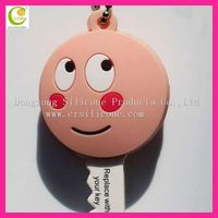 Eco-friendly silicone cute key caps customized durable silicone key cover for gift