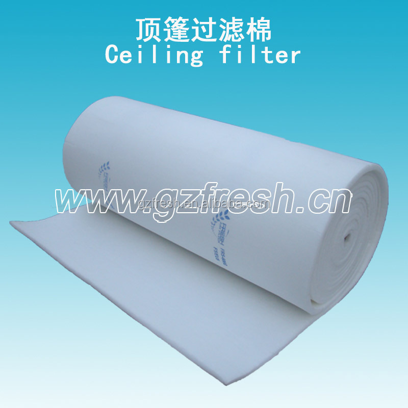FRS-600G FRESH air filter media filter cotton for painting booth(factory)