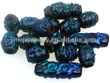 Outstanding DIY Blue-White Chinaware colorchanging Mood Beads China Supplier