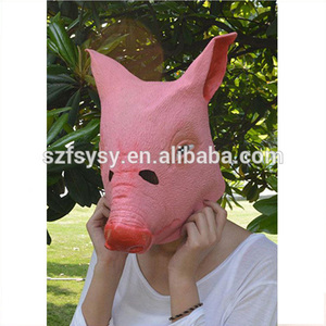 Creepy Pig Head Halloween Costume Mask Factory Direct Selling