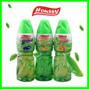 Houssy low sugar HACCP fruit flavor bottled green tea drink