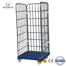 Trolley wheel with brake roll wooden pallet steel roll off container for sale