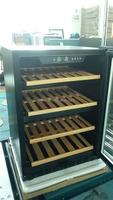 Under Counter Small display counter fridge, LED light Wine Cabinet Fridge Kitchen Equipment