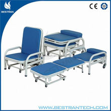 BT-CN002 Hot sales!!! High quality Companion hospital armchair bed