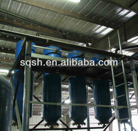 waste tyre oil recycling to fuel oil by Shangqiu Sihai with CE, ISO, and BV