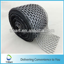 new design plastic mesh tube rolls Home Decor Poly Mesh Hot Mitsubishi Diamante Style Wrap Crafting Bridal