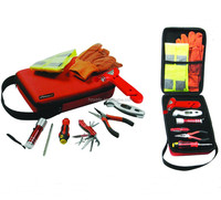 8pc Auto Roadside Emergency Tools Kit for Premium and Gift