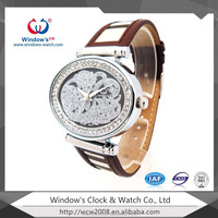 Window's 2013 new hot diamond case genuine stainless steel vogue watch
