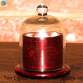 glass dome candles jar