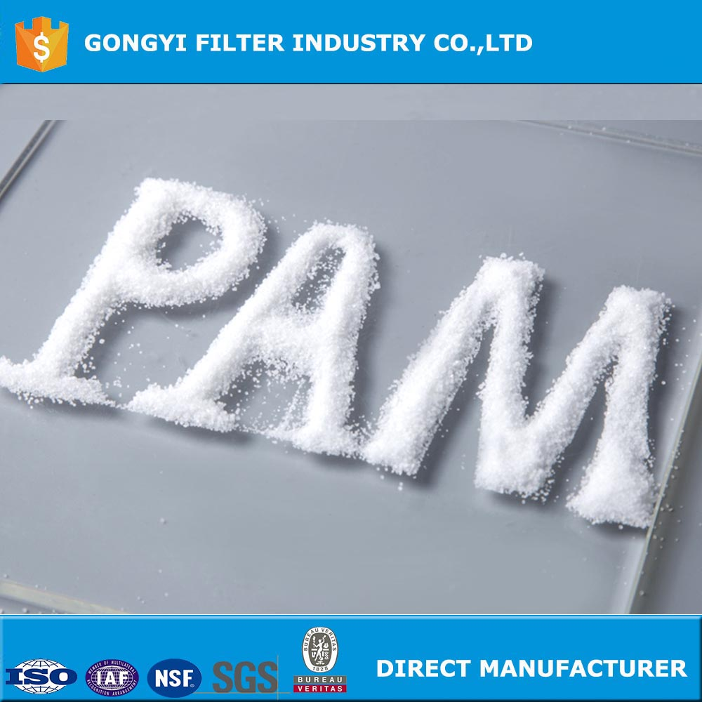 Water treatment chemicals polyacrylamide pam