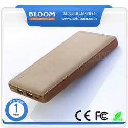 Made in china smartphone 10000mah portable power bank for sony