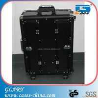 Aluminum makeup case with legs with mirror CE Approval (FY9616)