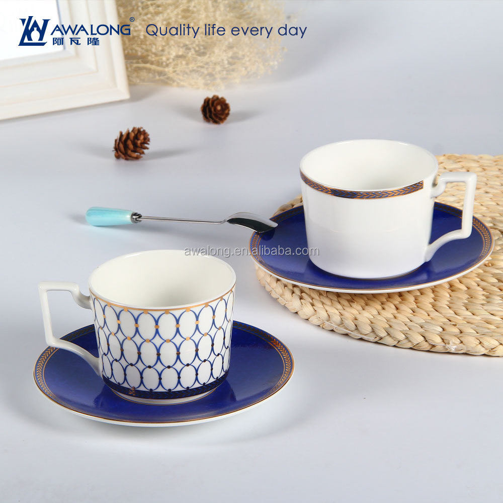 Ceramic Luxurious Coffee <strong>Cup</strong> And Saucer Fine Bone China Arabic Coffee <strong>Cups</strong>