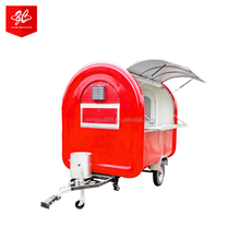 hamburgers carts food cart for sale/snack sale food cart cheap hot dog food vending trailer