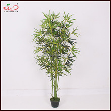 Modern style special design meeting place use make eyes comfortable artificial bamboo plant